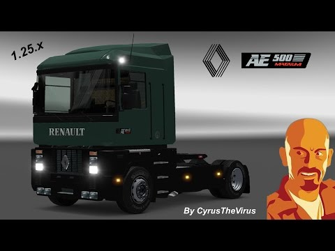 RENAULT AE MAGNUM 1.26.X DLCS ADD-ON