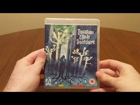 Invasion of the Body Snatchers (1978) Dir. Philip Kaufman - Arrow Video Blu-Ray Unboxing