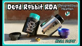 This is not a review. This is an introduction video to the Dead Rabbit RDA. This is a product that I designed and was manufactured by Hellvape. After almost a year in the making I am proud to introduce the Dead Rabbit RDA to you. Enjoy.To purchase the dead Rabbit follow the links below.Pre-Sale: The Cloudy Vapor:  http://bit.ly/2sEH6BKAt Launch:VaporDNA:  http://bit.ly/1QbOmPp use code DNA10 for 10% offVape Happy: http://bit.ly/VH-VAPEHAPPYElement Vape:  http://bit.ly/1rc1ngrEVCigarettes: http://bit.ly/2uw1bijFor Wholesale Inquiries: info@hellvape.com0086-755-323883211 WhatsApp: +8618123852990 Skype: hellvape Wechat: qingwen_niewww.hellvape.com info@hellvape.com FB/IG: @officialhellvapeChannel support and donations:☆ Patreon: http://bit.ly/25dLlW0 (recurring)•(reward system)☆PayPal: riotact713@gmail.com (one off)Right to Vape Campaign for the AVA/R2BSmokefree  ☆ http://bit.ly/Right2vape *please share this link everywhere Check out my 2nd channel:*https://www.youtube.com/channel/UCWCQg3K0hj54fyVODHvQlcwRecommended sites:☆VaporDNA:  http://bit.ly/1QbOmPp use code DNA10 for 10% off☆Vape Happy: http://bit.ly/VH-VAPEHAPPY☆Eciggity:  http://bit.ly/2cWzh3q☆Direct Vapor:  http://bit.ly/1TgrXPe☆Code 3Vapor:  http://bit.ly/1QQJA4Z☆Element Vape:  http://bit.ly/1rc1ngr☆The Cloudy Vapor:  http://bit.ly/2sEH6BK**Heaven Gifts: http://www.heavengifts.com use code AVHEATHEN for 15% off of your purchaseBest authentic beginner products to quit smoking:☆Best ecig: http://bit.ly/20WKPEl code vapinheathen for 10% off☆Best ecigar: http://bit.ly/1KNhjz3 code vapinheathen for 10%offGreat sub ohm tank coils☆ Coil Art: http://www.coilart.netRecommended China vendors:☆ Gear Best Site: http://goo.gl/IpqFE0☆ Gear Best Promotion: http://goo.gl/QQ0YUn☆ Heaven Gifts: http://www.heavengifts.com use code AVHEATHEN for 15% off of your purchaseBest ejuice subscription service☆ Zample Box: http://bit.ly/1PR3rDU use code Heathen10 for 10% offHeathen gear and swag (T-shirts, Hoodies, decals)☆ http://www.v