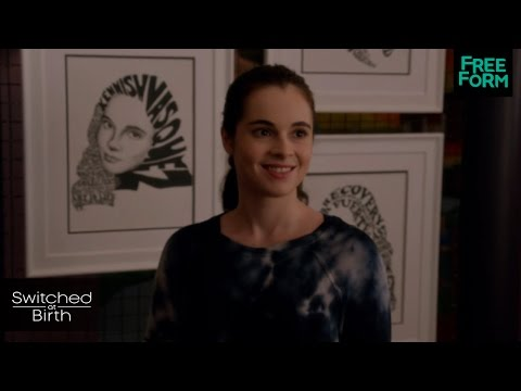 Switched at Birth 4.18 (Clip 'Bay's Art')