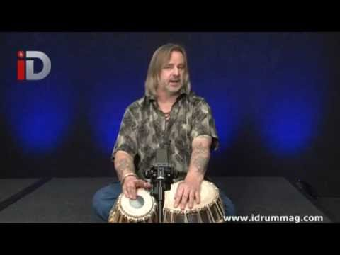 Tabla - THE VERY BASICS FROM THE START FOR THIS AMAZING SET OF DRUMS. More at www.petelockett.com.