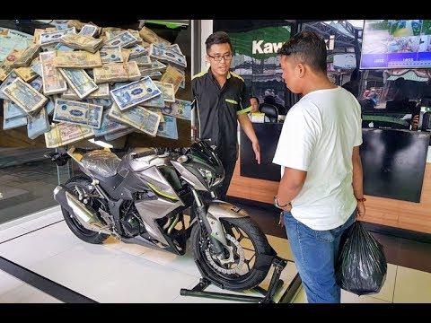 Mang 155 triệu tiền lẻ đi mua Kawasaki Z300 ở Sài Gòn - Thời lượng: 0:25.