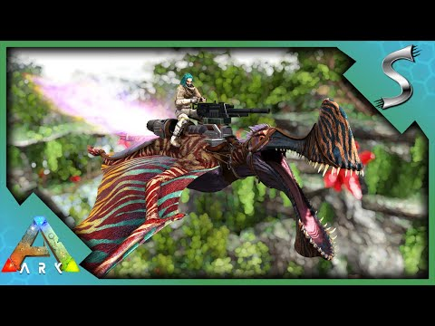 I HAVE THE MOST POWERFUL FIGHTER PLANE! - ARK Survival Evolved [E75]