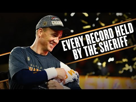 Video: Peyton Manning retires from NFL holding all the records