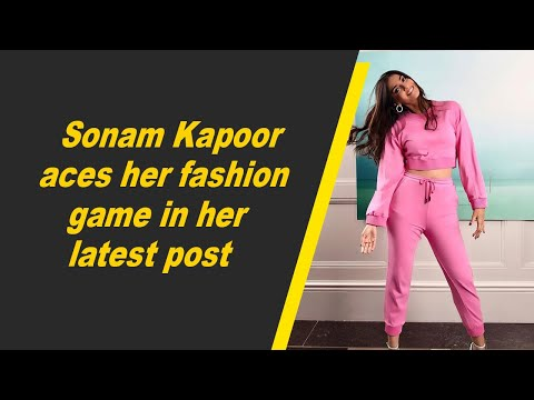 Sonam Kapoor aces her fashion game in her latest post
