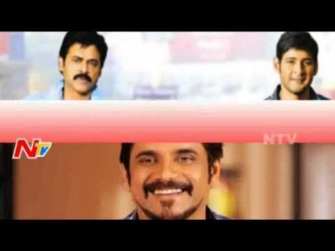 Nagarjuna Is The First Senior Hero To Touch 50Crores