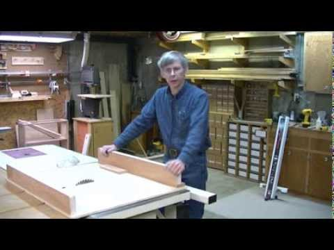 woodworking - How to build a Cross-cut Sled for your table saw. It's easy, dependable strong and accurate! This construction method is overall the best design for both nov...