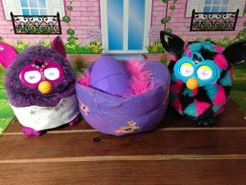 Imagens de feliz páscoa - A minha Furby Lulu botou um ovo por Julia