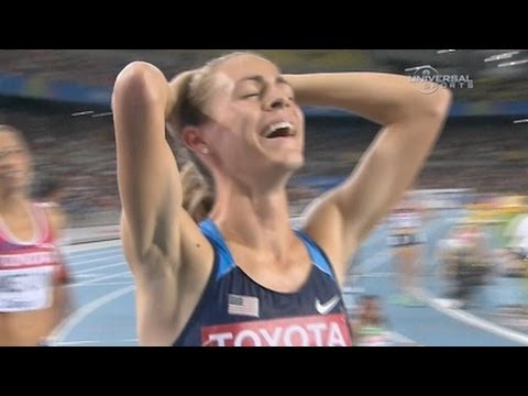 Jennifer Simpson surprise 1500 win 2011 World Championships