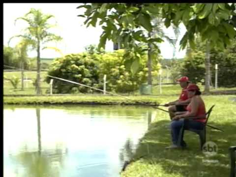 SBT Interior: Centro Turístico oferece pesca esportiva em Coroados