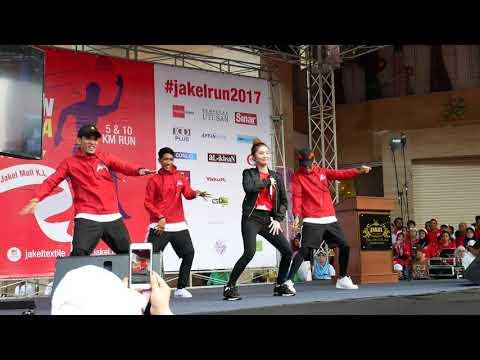 Video Ayda Jebat - Nakal Nakal Nakal [Jakel Charity Run For Rohibgya 2017] download in MP3, 3GP, MP4, WEBM, AVI, FLV January 2017