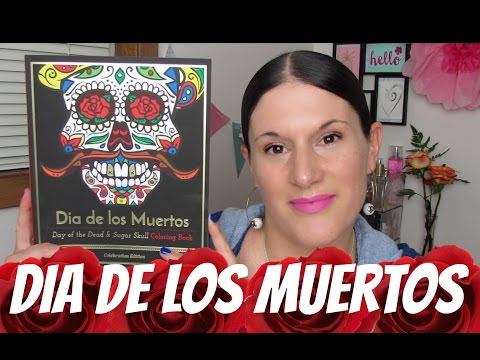 Blue Star ADULT COLORING BOOKS | Dia De Los Muertos