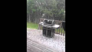 Fall River (NS) Canada  City pictures : Hail storm in Fall River, Nova Scotia