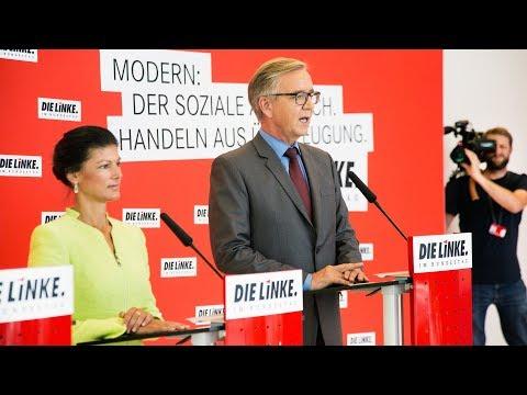 Sahra Wagenknecht und Dietmar Bartsch, DIE LINKE: W ...