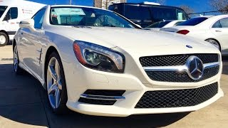 2015 Mercedes-Benz SL Class SL400 Roadster Full Review /Start Up /Exhaust