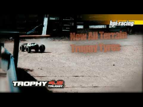 Смотреть видео HPI Trophy 4.6 RTR 1/8 4WD