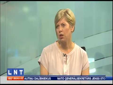 """Veselības ministres Andas Čakšas saruna LNT raidījumā """"900 sekundes"""""""