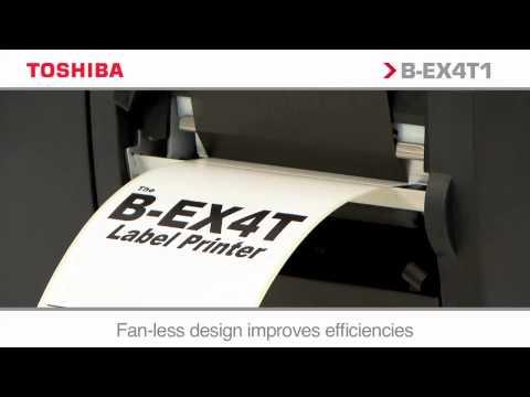 Toshiba Industrial Printer B-EX 4T1
