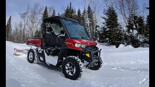 8. Busting Through Drifts at -30F // 2019 Can-Am Defender XT HD8