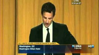 Video Seth Meyers Destroys Donald Trump @ White House Correspondents Dinner 5/1/2011 MP3, 3GP, MP4, WEBM, AVI, FLV Oktober 2018