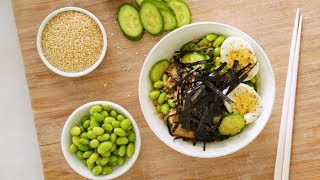 Vegetable and Seafood Grain Bowl- Healthy Appetite with Shira Bocar by Everyday Food