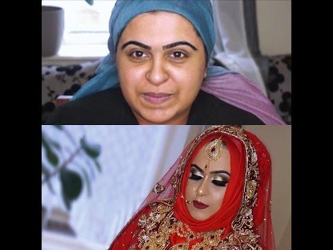 Video Real Hijabi Bride | Asian Bridal Makeup | Traditional Signature Look | download in MP3, 3GP, MP4, WEBM, AVI, FLV January 2017