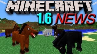 Minecraft News: 1.6 Horses Confirmed! Secret Feature&10 Million Sales