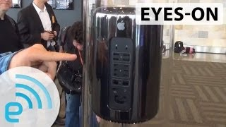 Mac Pro : Apple's Next-Generation Mac Pro Prototype Eyes-on | Engadget At WWDC 2013