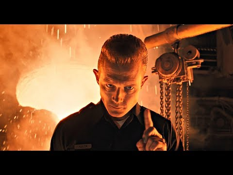 Terminator 2 T1000 Death l 4K 3D Remastered