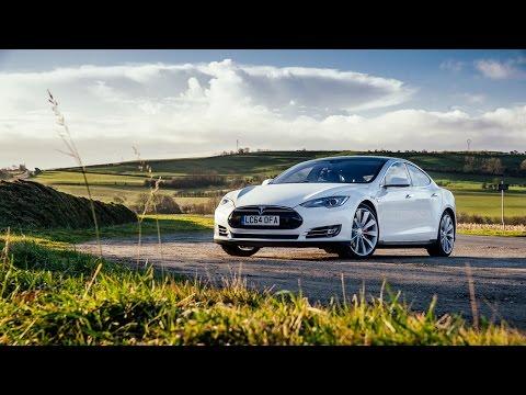 Tesla model s luxury electric car снимок