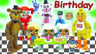 LOL Surprise Wave 2 Big Sister Blind Bag Ball Birthday Party with Five Nights At Freddy's