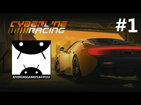 Cyberline Racing Android GamePlay #1 (1080p)