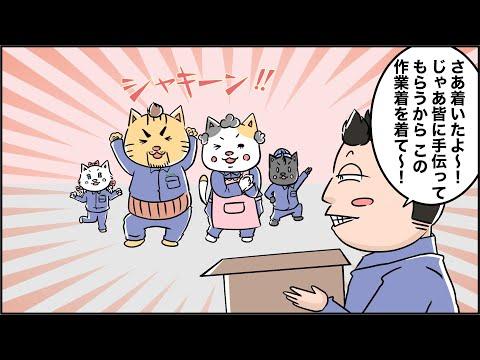 猫家族との出会い(メッキ前処理編)マンガでわかるFAQ第7話