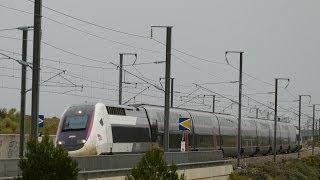 Mallemort France  City pictures : TGV dans le sud de la France!