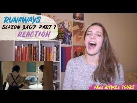 "Runaways Season 3 Episode 7 ""Left-Hand Path"" REACTION Part 1"