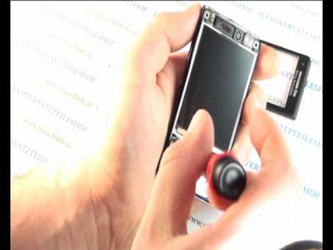 comment demonter sony ericsson w995