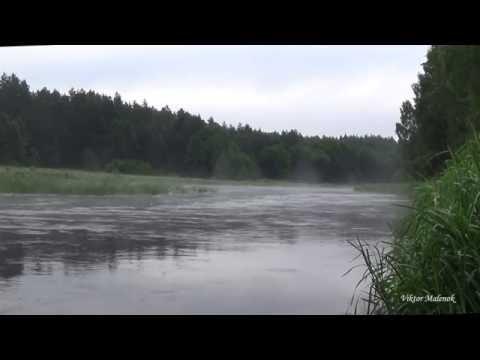 Река. Утро. Туман. Природа. Звуки воды. Релакс. Медитация. Ривер. Релакс. Mедитатён.