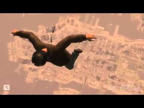 GTA IV caídas desde el espacio