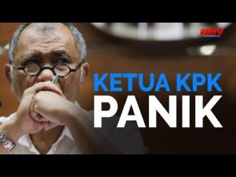 Ketua KPK Panik
