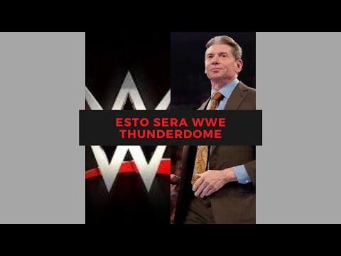 ESTO SERA WWE THUNDERDOME!!!