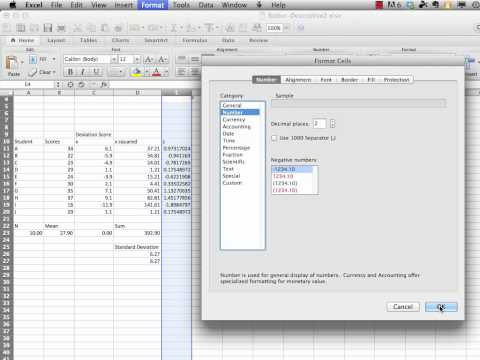 Statistics in Education for Mere Mortals: Descriptive Statistics – Computing z Scores with Excel