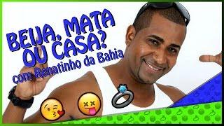 Renatinho da Bahia, ex-vocalista do É O Tchan, foi entrevistado e falou um pouco da sua carreira solo nas baladas cariocas e pelo Brasil à fora!Aproveitou e brincou com a gente no Beija, Mata ou Casa!