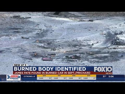 Body found in burned car in Prichard identified