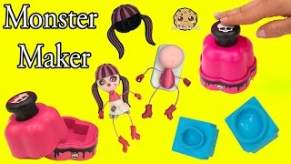 Video Monster High Maker Machine Create A Draculaura Mini Doll Craft Toy Playset - Cookieswirlc Video MP3, 3GP, MP4, WEBM, AVI, FLV Agustus 2018