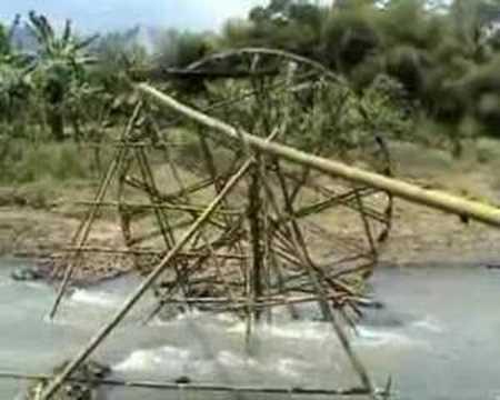 Kincir air mu atasi kekringan sawah petani... jika musim kemarau