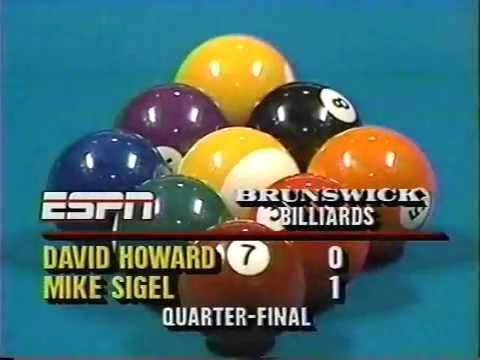 1988 Sigel Strickland Hall 9-ball 3 Vegas matches