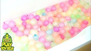 Video 100 Balon Air POP Pelajari Warna [Inggris] MP3, 3GP, MP4, WEBM, AVI, FLV Agustus 2017