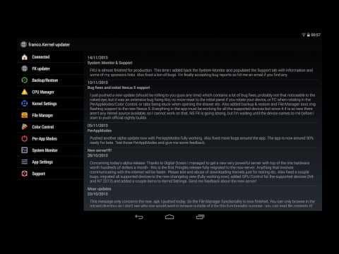 franco.Kernel updater APK 11.0.3