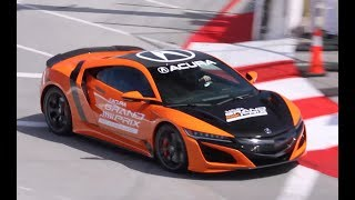 2019 Acura NSX on Long Beach Grand Prix Circuit! by The Smoking Tire