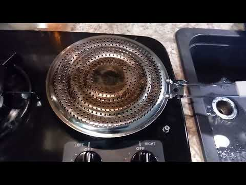 COOKING? TRY A HEAT DIFFUSER AND MELTING DOME